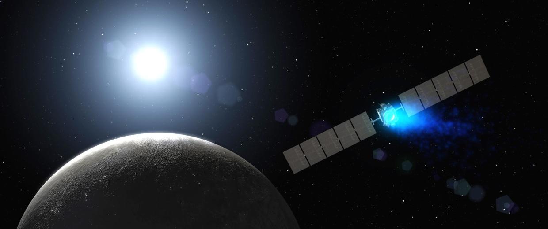 Dawn Spacecraft Slips Quietly Into Orbit Around Dwarf Planet Ceres