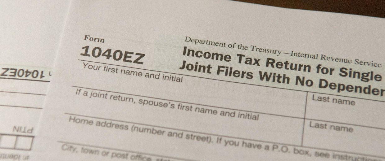 Image: Tax forms