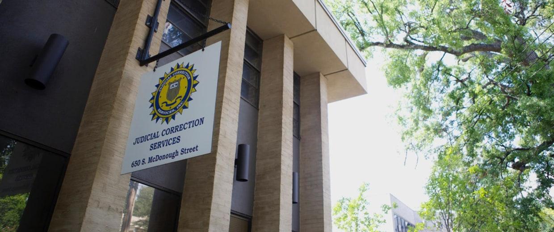 Image: Judicial Correction Services building