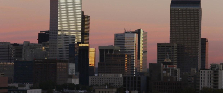 Image: Denver skyline