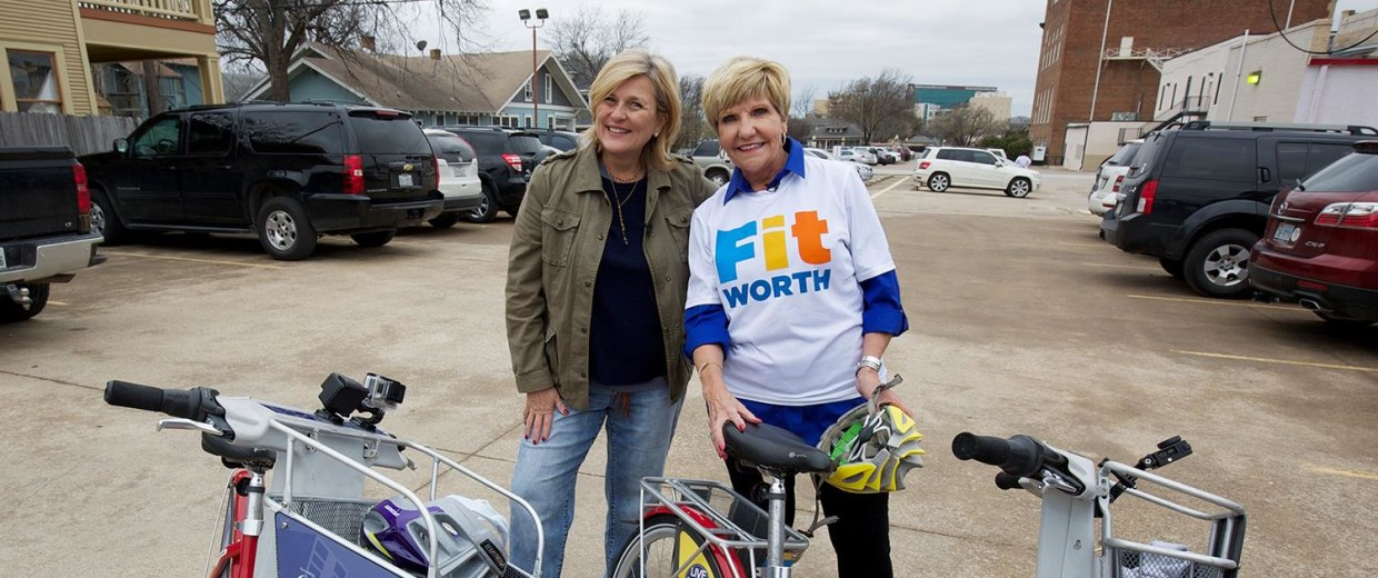 Forth Worth Mayor Betsy Price is leading her city's Blue Zones Project