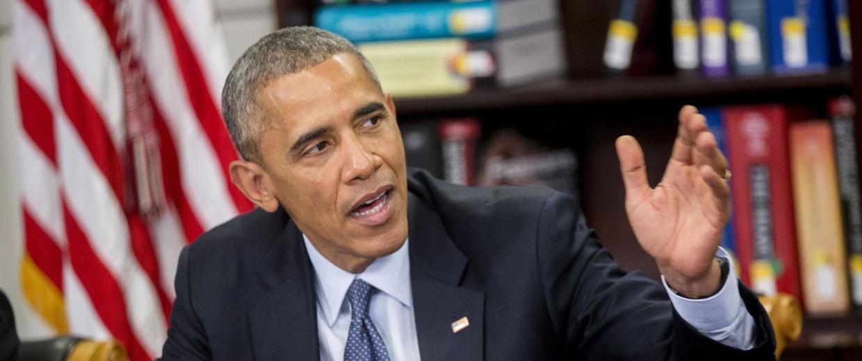 Image: Obama Roundtable On Impacts Of Climate Change On Public Health
