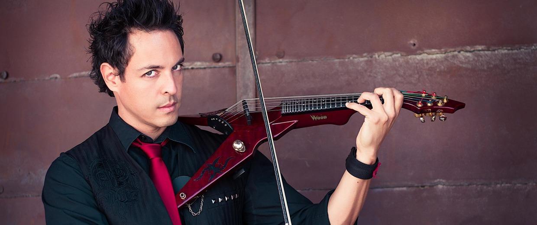 Image: Austin, Texas-based violinist, guitarist and singer Haydn Vitera.