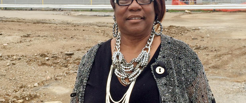 Juanita Morris, owner of Fashions R Boutique in Ferguson, Missouri.