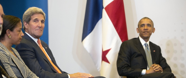 Image: Barack Obama, John Kerry, Susan Rice