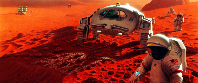 Image: Humans on Mars
