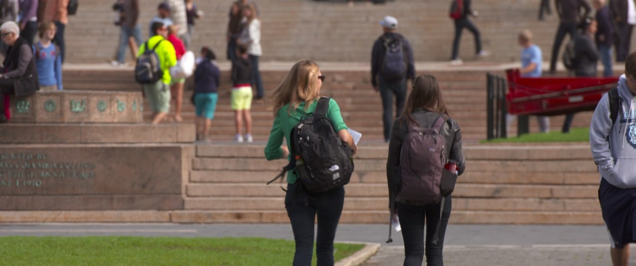 Consumer advocates are urging colleges to negotiate better deals with banks for student checking accounts.