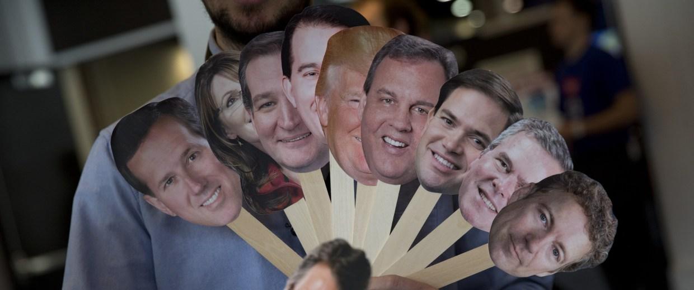 """Image: Howard """"Cowboy"""" Woodward, Rick Perry, Rand Paul, Adam Gabbatt, Ted Cruz, Sarah Palin, Scott Walker, Marco Rubio, Rick Perry, Jeb Bush"""
