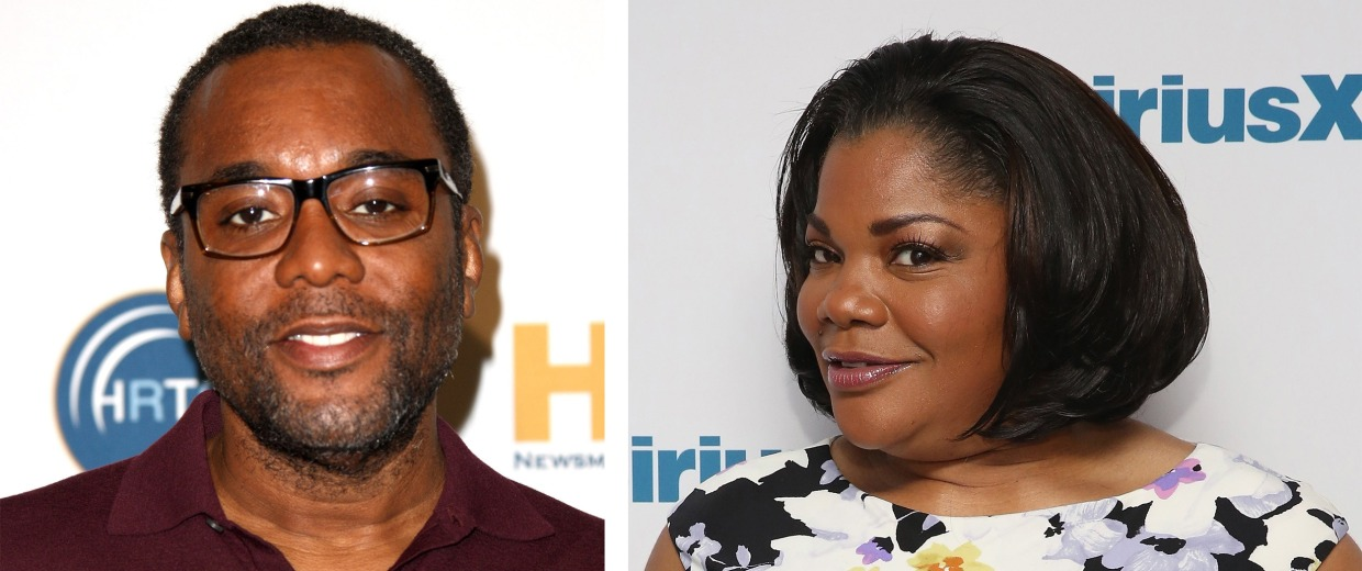 Image: Composite of Lee Daniels and Mo'Nique