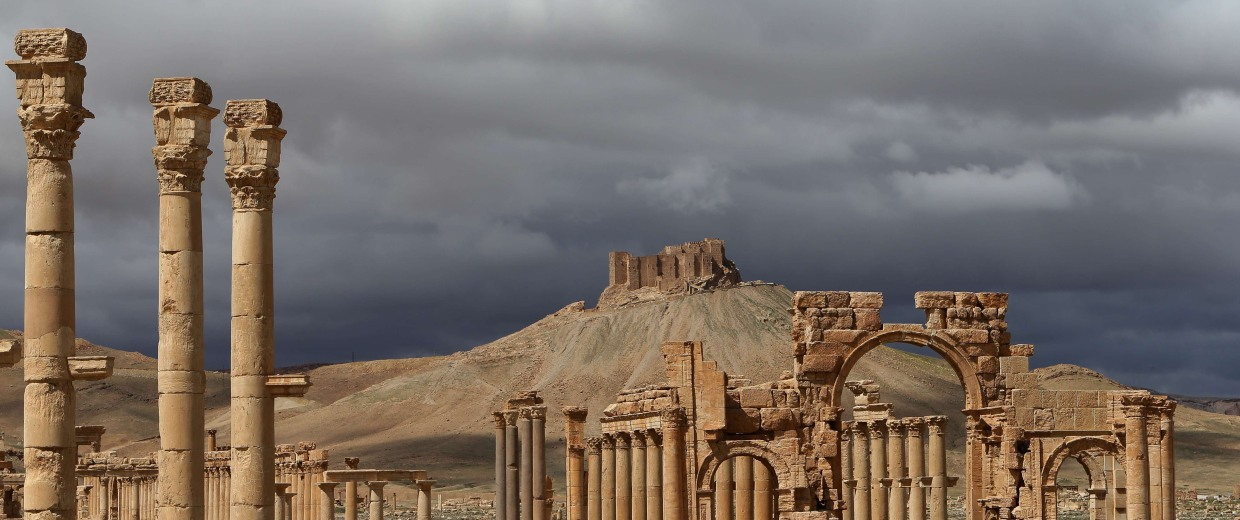 Image: SYRIA-CONFLICT-ARCHAEOLOGY-PALMYRA-FILES