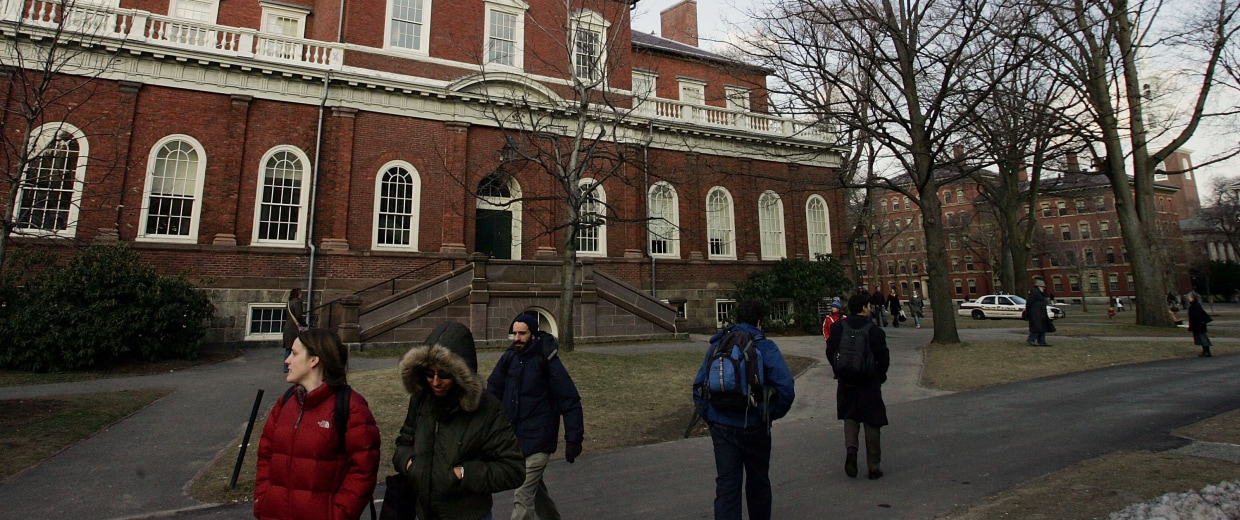Image: Summers To Step Down As Harvard President