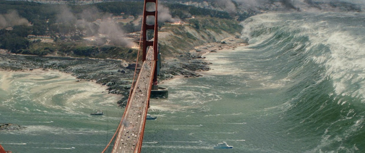 tsunami could hit california but not like in san andreas quake movie