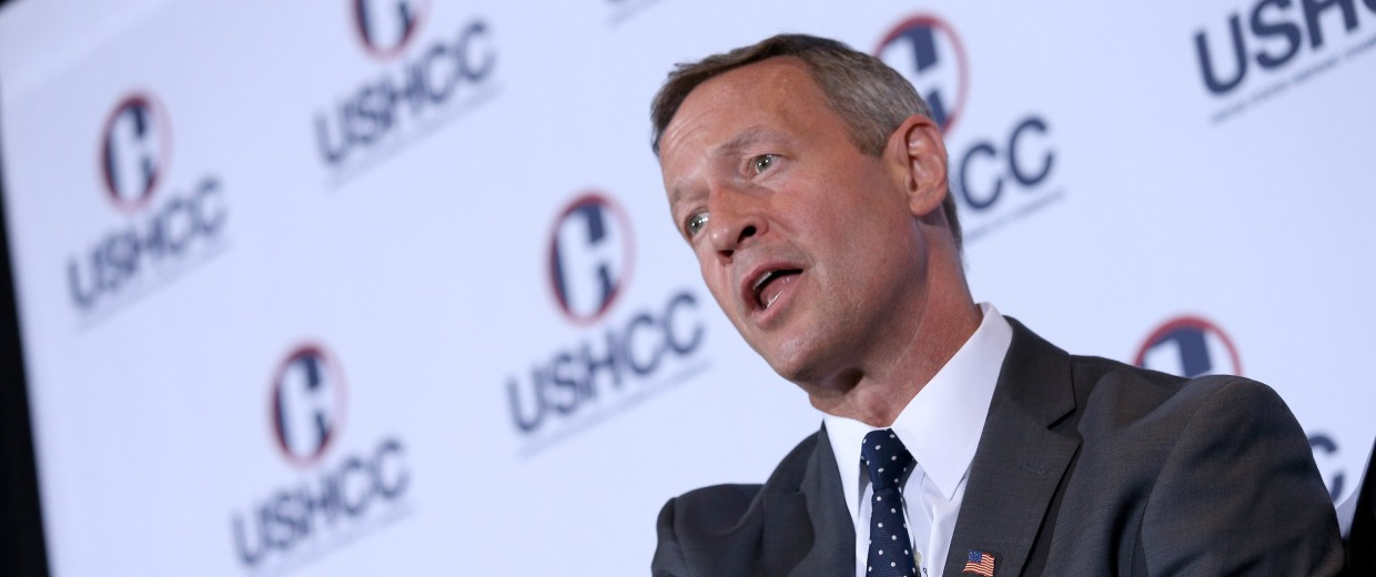 Image: Martin O'Malley Addresses U.S. Hispanic Chamber Of Commerce