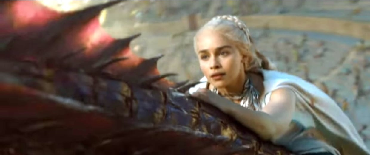 Image: Daenerys on Dragon