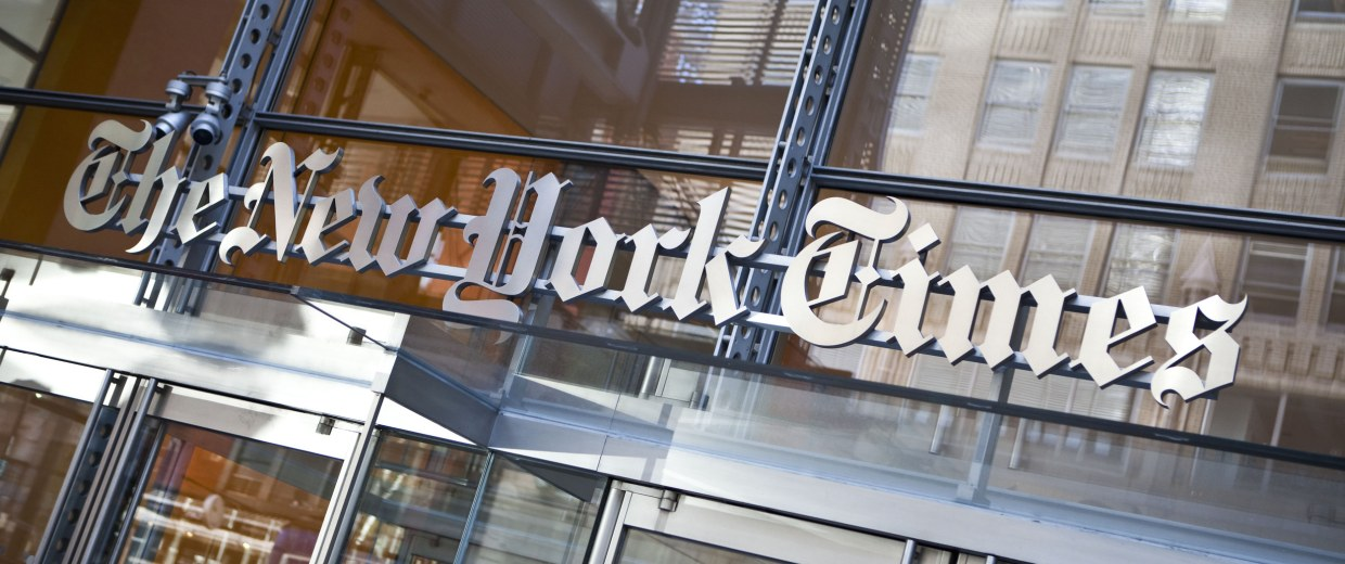 Image: FILE: NYT Names Former BBC Director Mark Thompson As New Head