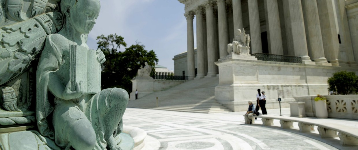 Image: The  U.S. Supreme Court  is seen in Washington