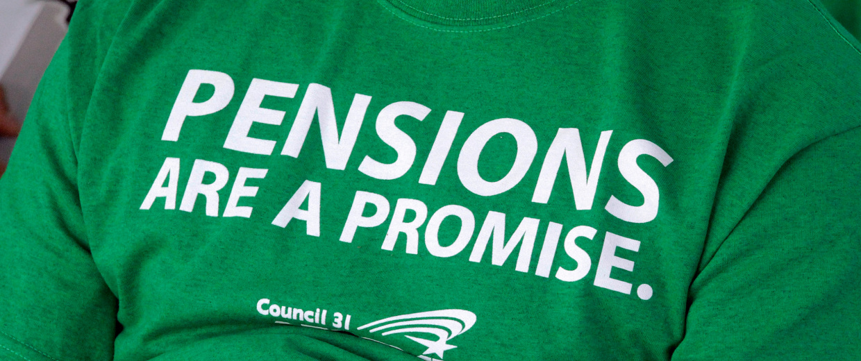 Image: pension benefits cut