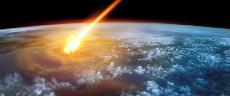 Image: Asteroid strike