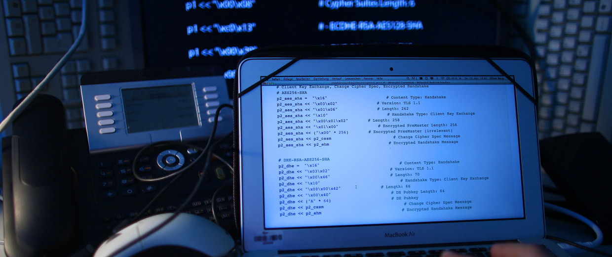Image: Computer screen with source code