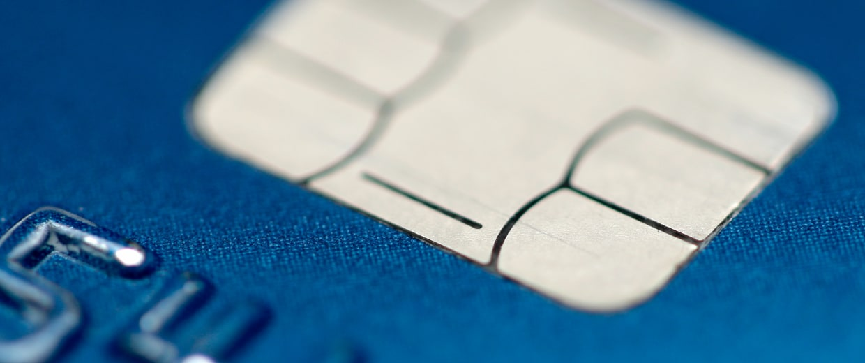 Image: chip credit card