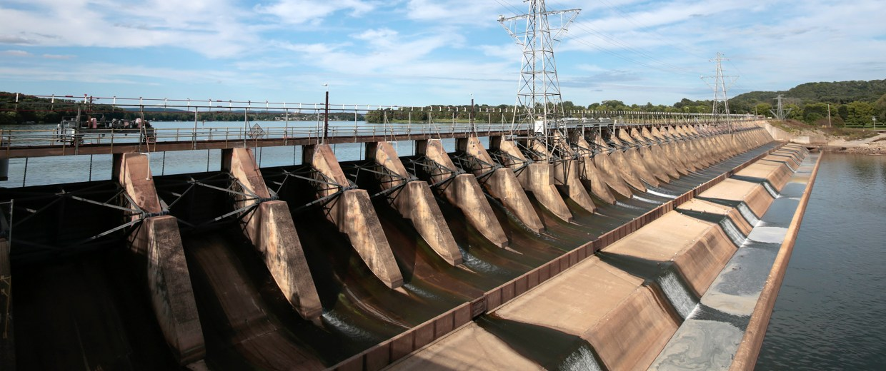 Image: hydroelectric dam