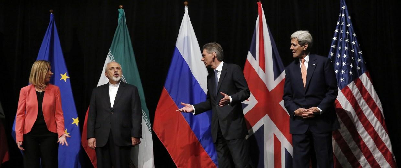 APTOPIX AUSTRIA IRAN NUCLEAR TALKS