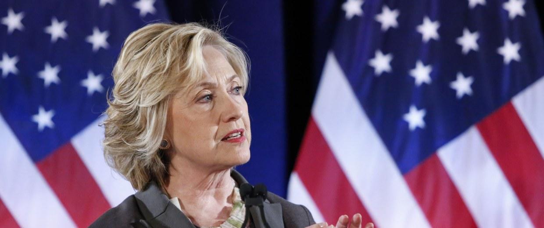 Image: US-VOTE-CLINTON-ADS-FILES