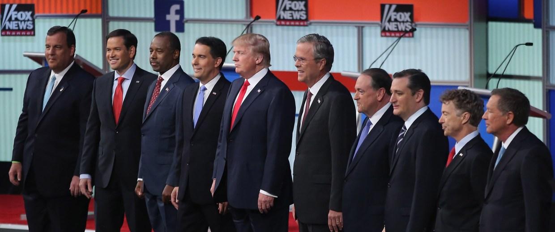Image: BESTPIX - Top-Polling GOP Candidates Participate In First Republican Presidential Debate