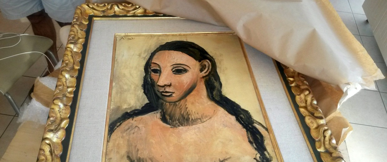 Image: FRANCE-SPAIN-BRITAIN-ART-CUSTOMS-CRIME-PICASSO-FILES