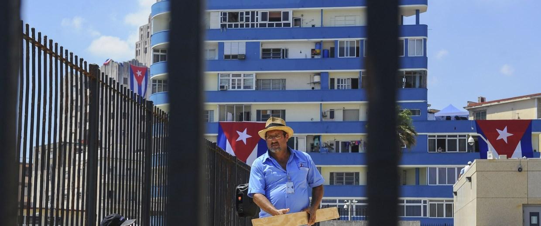 Image: CUBA-US-EMBASSY