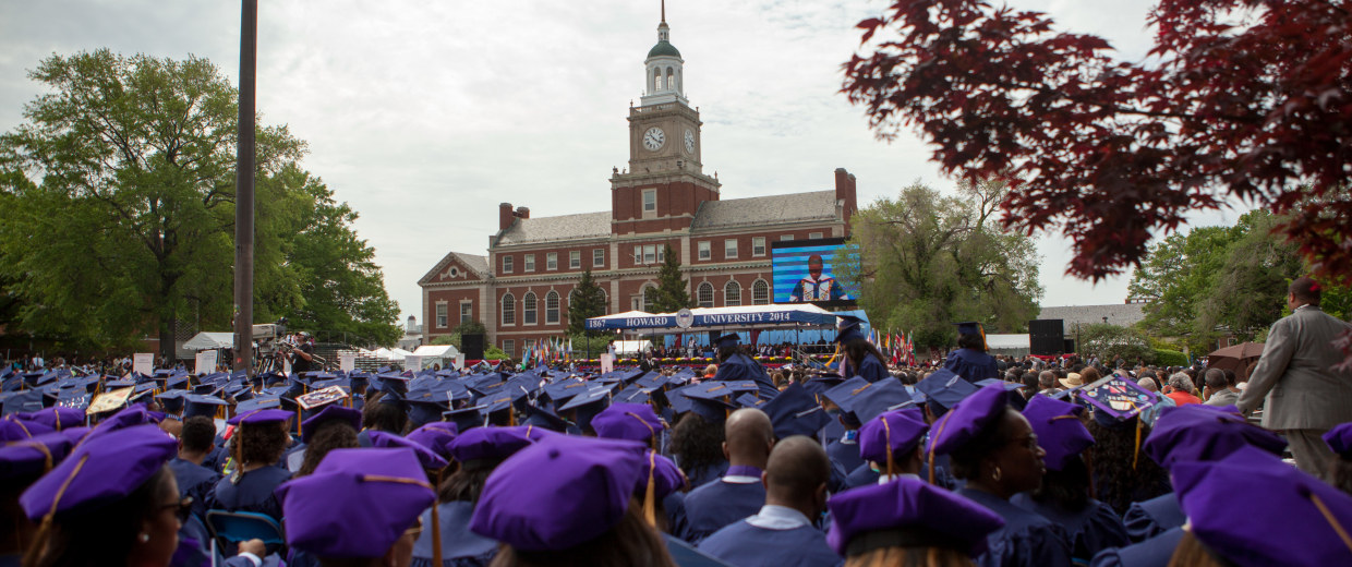 """Sean """"Diddy"""" Combs Delivers Commencement Address at Howard University"""