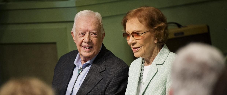 Image: Jimmy Carter, Rosalynn Carter