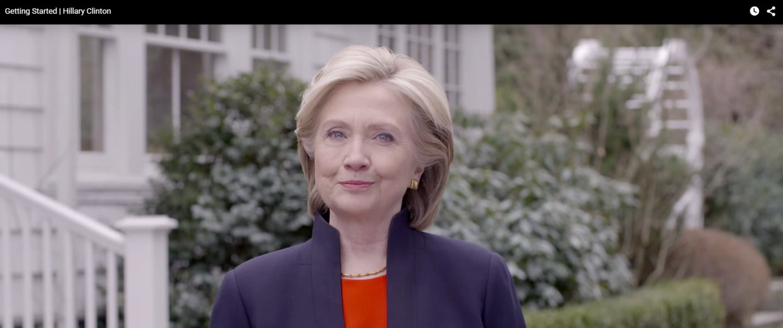 Image: Hillary Clinton campaign ad