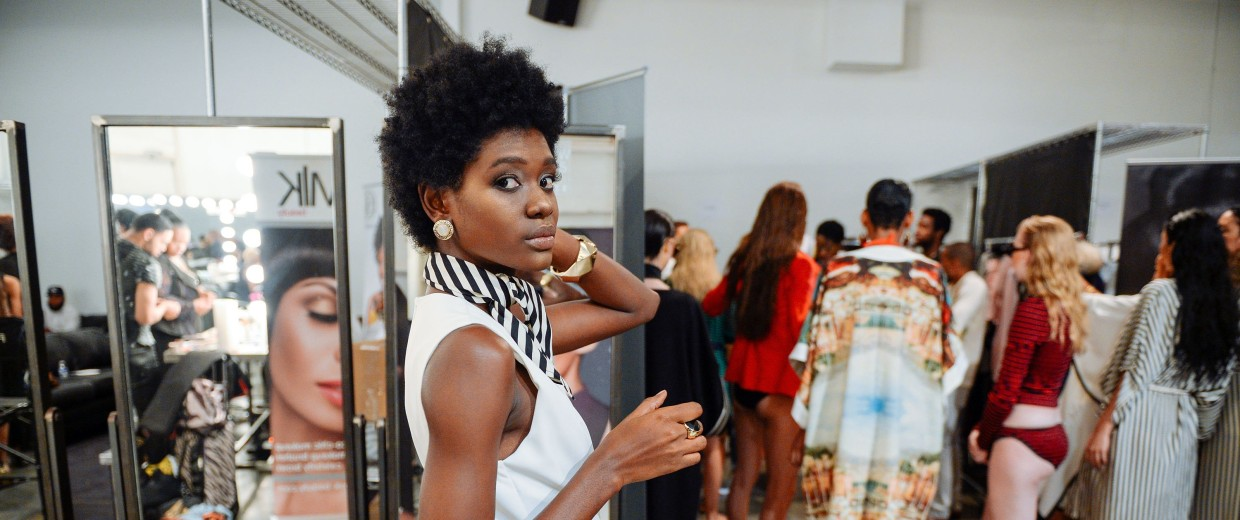 Image: Harlem's Fashion Row - Backstage - Spring 2016 New York Fashion Week