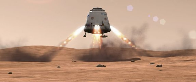Image: SpaceX's robotic Dragon capsule