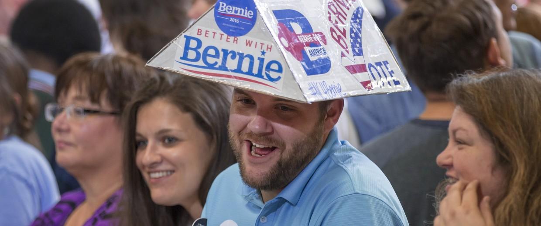 Image: Bernie Sanders, Tyson Miller
