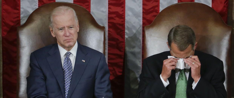 Image: Pope Francis, John Boehner, Joe Biden
