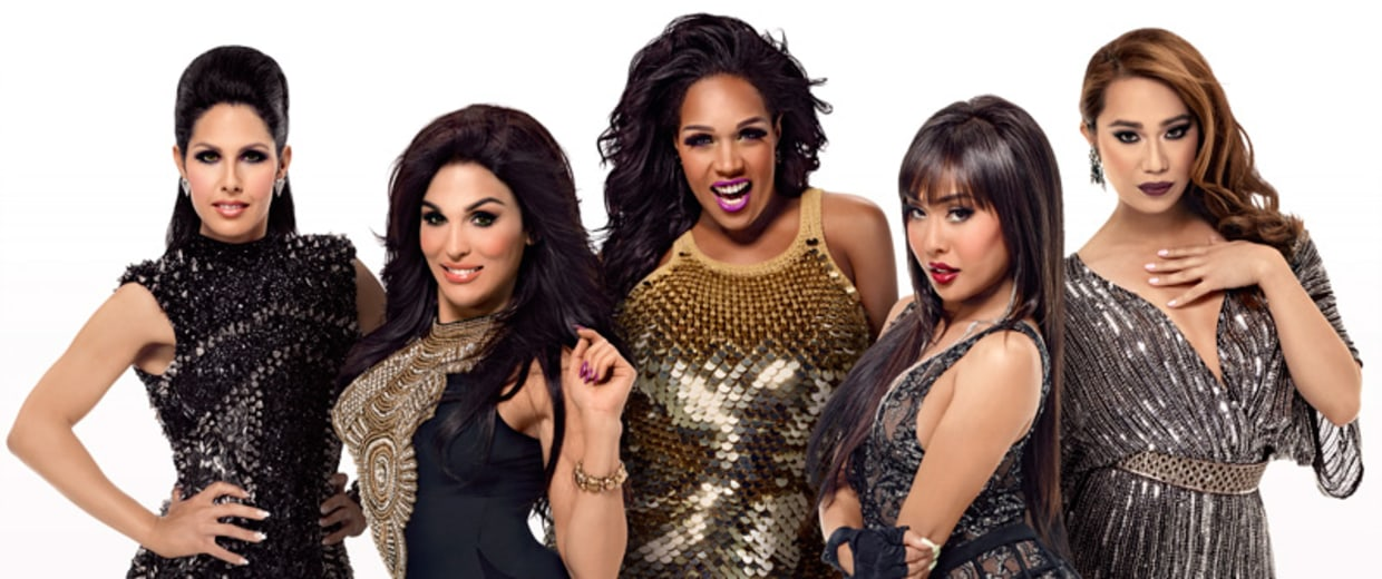 """The five ladies of the upcoming show, """"Transcendent"""""""