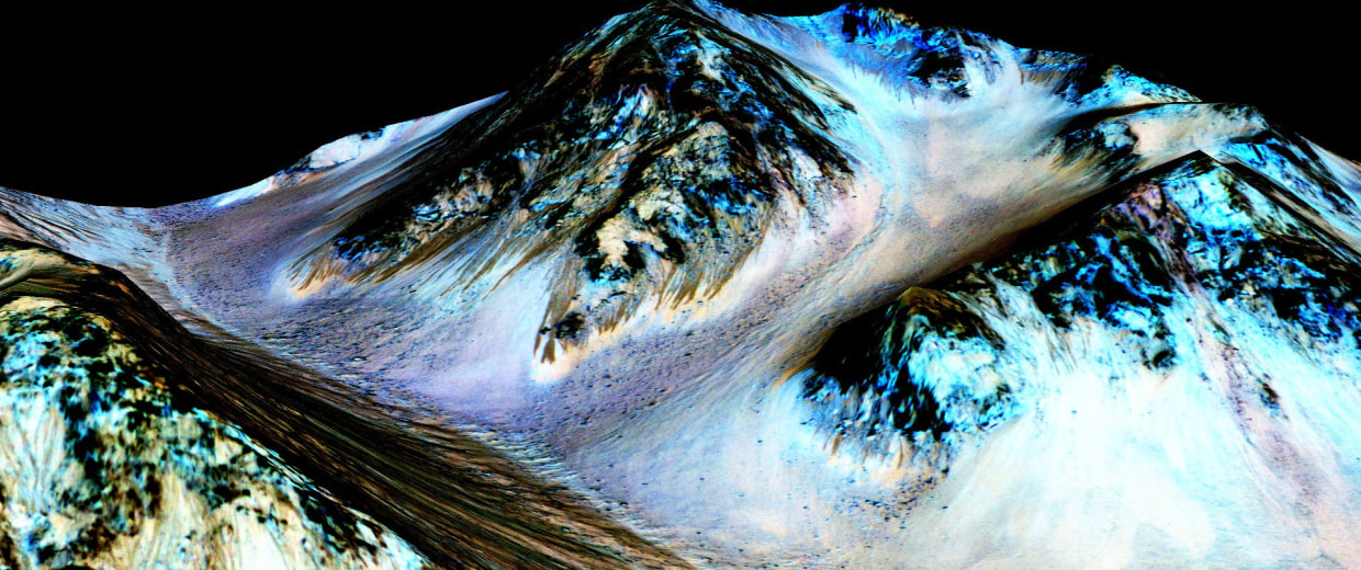 Image: Planet Mars Shows Signs Of Liquid Water