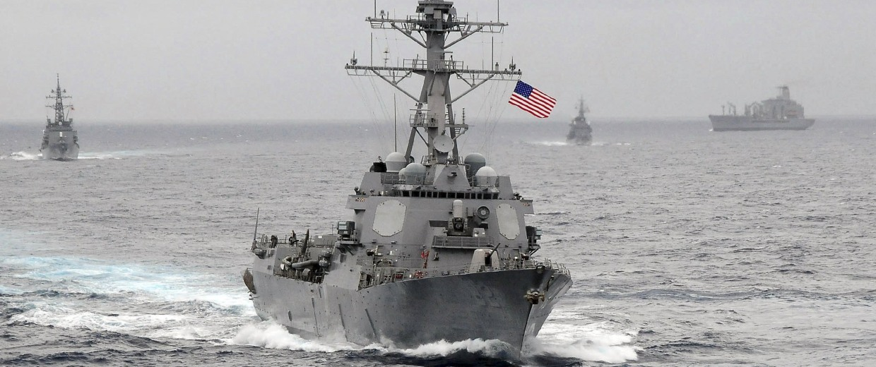 Image: File photo of the US Navy guided-missile destroyer USS Lassen underway in the Pacific Ocean