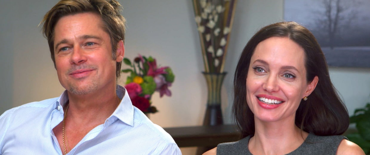Image: Angelina Jolie and Brad Pitt TODAY interview