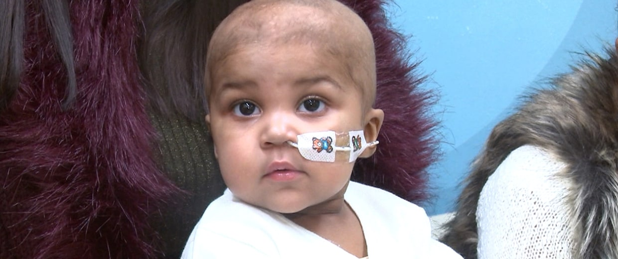 Image: Layla, 1, was treated with gene-edited immune cells for her 'incurable' leukemia.