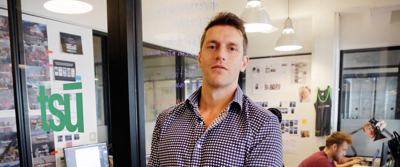 Image: The CEO of tsu.co, Sebastian Sobczak
