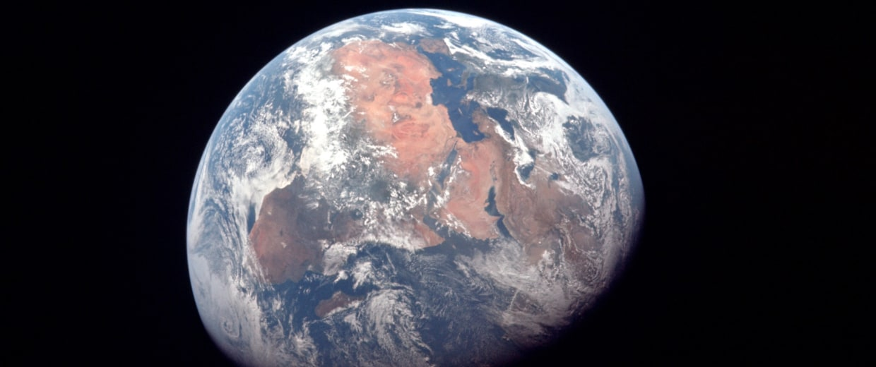 Image: Earth seen from Apollo 11