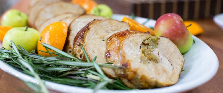 Giada de Laurentiis's recipe for no-carve turkey porchetta