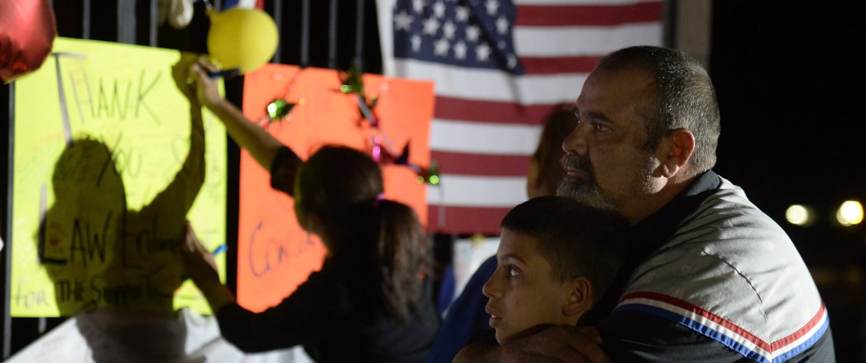 Image: San Bernardino mass shooting memorial