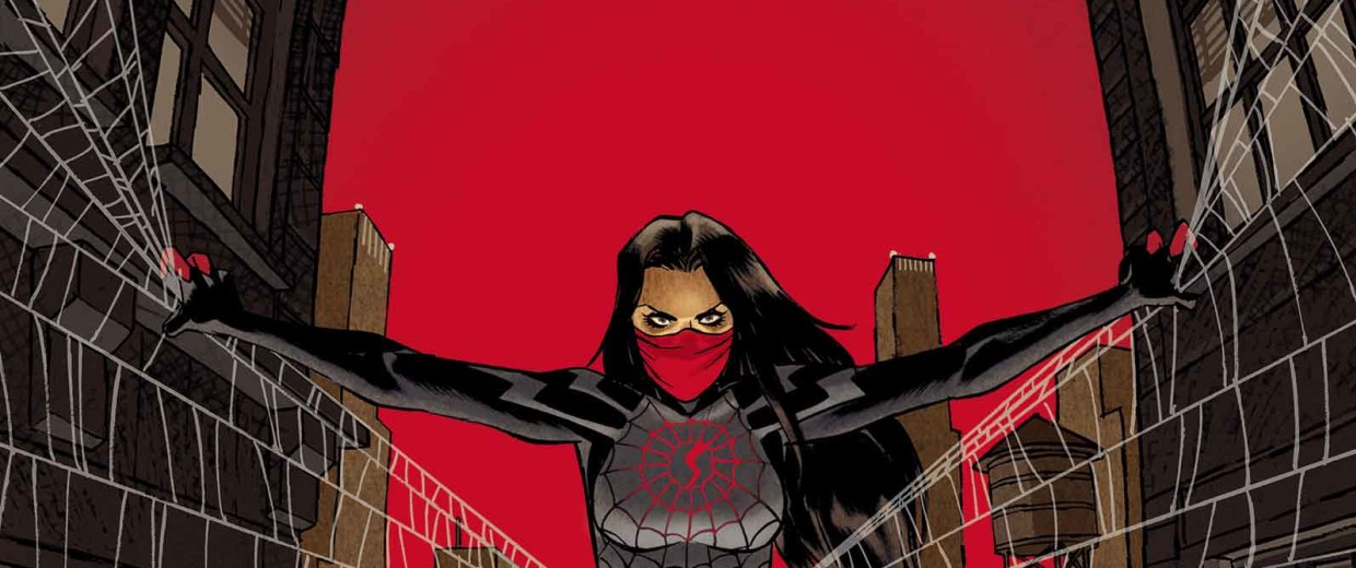 """Marvel's new comic book, """"Silk,"""" tells the story of Cindy Moon and her crime-fighting alter ego."""