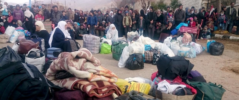 Image: besieged town of Madaya
