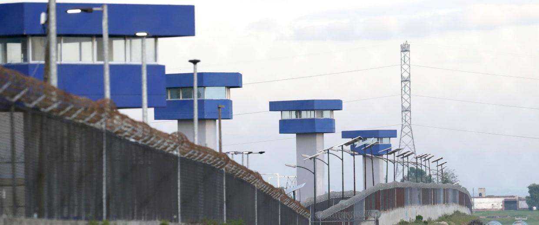 Image: General view of the perimeter of the Altiplano Federal Penitentiary, where the drug lord Joaquin 'El Chapo' Guzman escaped, in Almoloya de Juarez