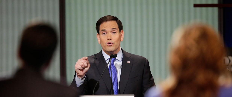 Image: Marco Rubio Republican debate